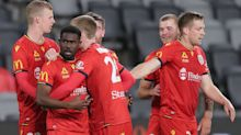 Adelaide United 5-3 Perth Glory: Opseth inspires thriller in top-six battle