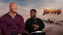Dwayne Johnson quería seguir capturando la esencia de Robin Williams en 'Jumanji: siguiente nivel'