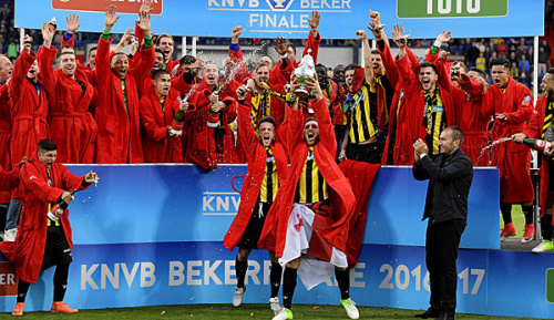 International: Vitesse Arnheim erstmals niederländischer Pokalsieger