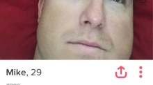 Hacked Tinder bio reveals that 'Mike' is kind of a cheating jerk