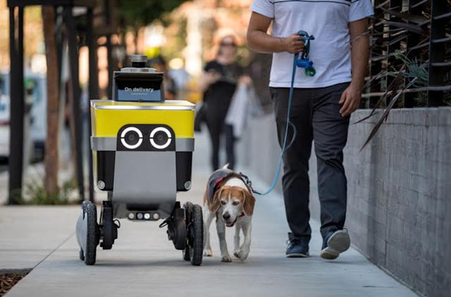 Uber spins out Postmates' robot delivery division into a separate company