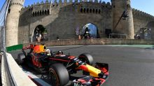 Vettel, Hamilton clash as Ricciardo wins in Baku
