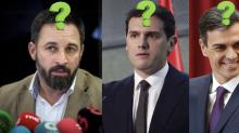 Rivera, Abascal… Los retoques capilares de los políticos
