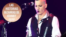 """Las historias """"bizarras"""" de Johnny Depp"""