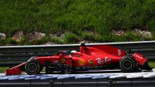 """Ferrari-Fiasko! Vettel: """"Weiß nicht, welche Lücke Charles sah"""""""