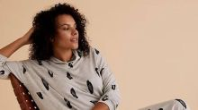 M&S' sold-out lounge dress is back in stock in a new print