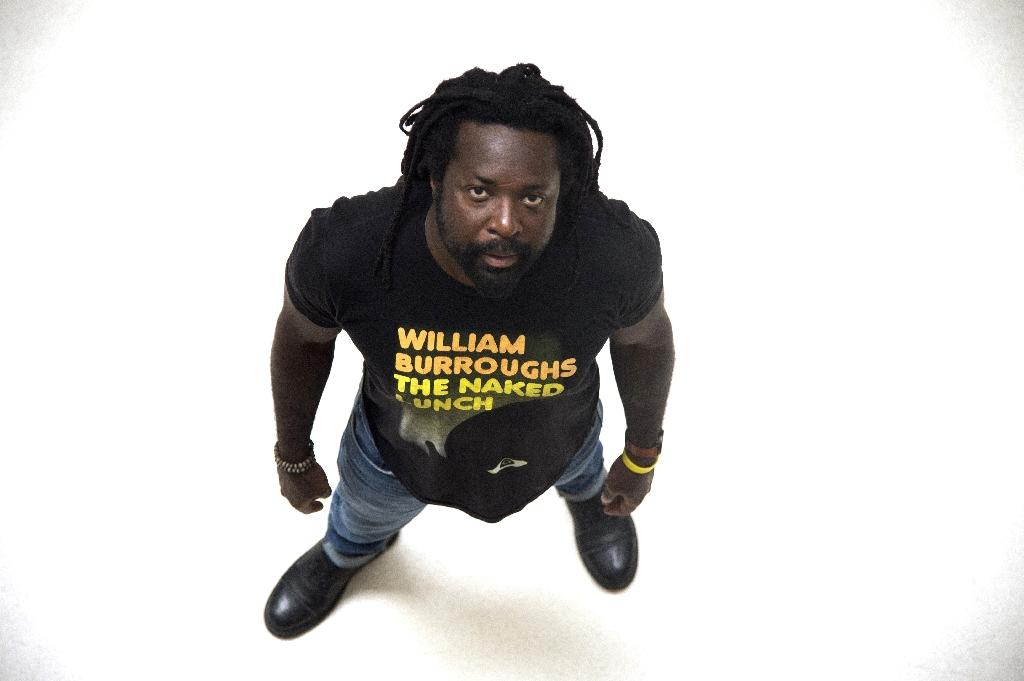 The US-based writer Marlon James returned in glory earlier this year to give the Bob Marley lecture at his old alma mater, the University of the West Indies (AFP Photo/Dominique Faget)