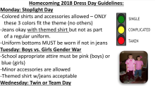 Dad calls theme day 'inappropriate' for asking middle school students to dress based on relationship status