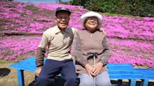 Husband plants thousands of flowers for blind wife to smell