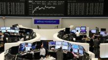 Bank rally leads European stocks higher