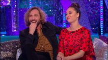 'Strictly': Seann and Katya have ANOTHER awkward TV interview together