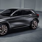 Infiniti Inspires with QX Sport Concept Crossover at Paris Motor Show