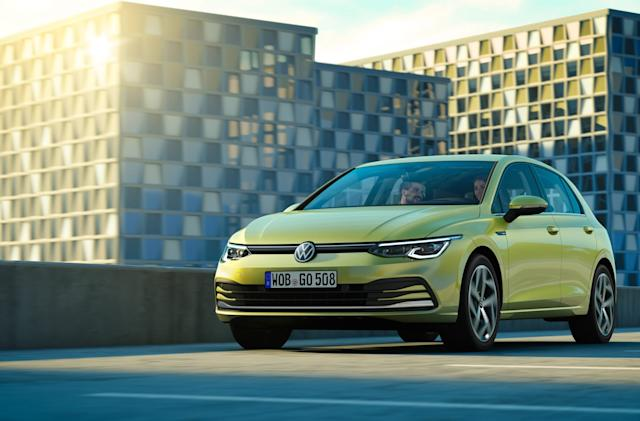 Volkswagen unveils next-gen Golf and its hybrid variants