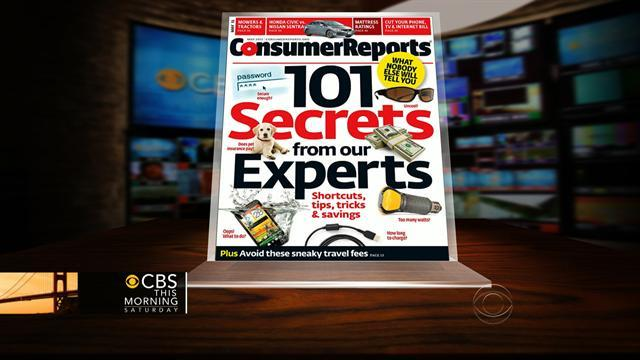 Tips and Tricks from Consumer reports