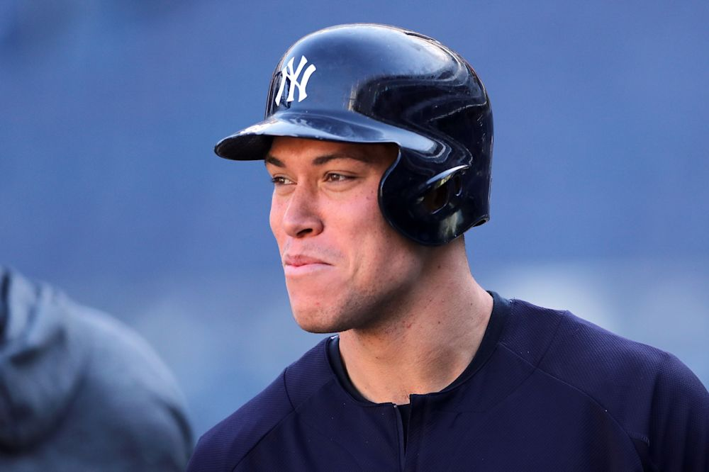 Aaron Judge got some write-in votes for New York City mayor earlier this month. (AP)
