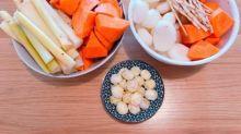 竹蔗茅根馬蹄紅蘿蔔湯