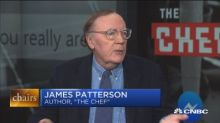 James Patterson on his new Facebook Messenger digital book: 'You've never seen anything like it'