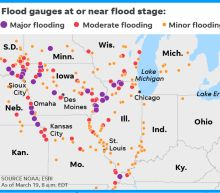 Nebraska underwater: 74 cities, 65 counties declare emergencies as flooding envelops state