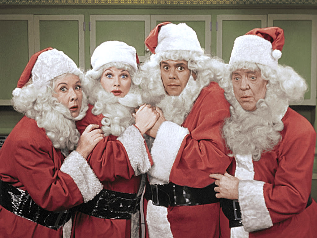 """Fans Not Quite in Love With Colorized """"I Love Lucy"""" Christmas Special"""