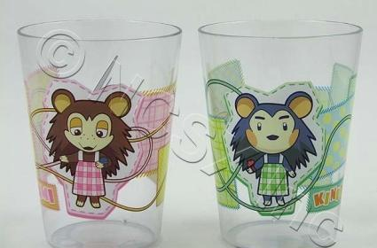 Animal Crossing cups for you and a neighbor