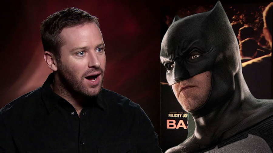 Exclusive: Armie Hammer refutes 'Batman' rumours