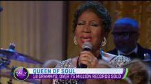 Well wishes for Aretha Franklin