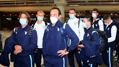 Lazio quarantines entire team over virus outbreak