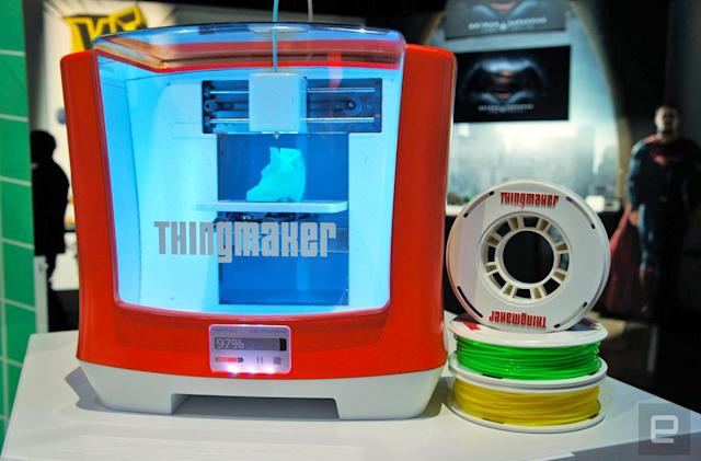 Build your own action figures with the new ThingMaker 3D printer