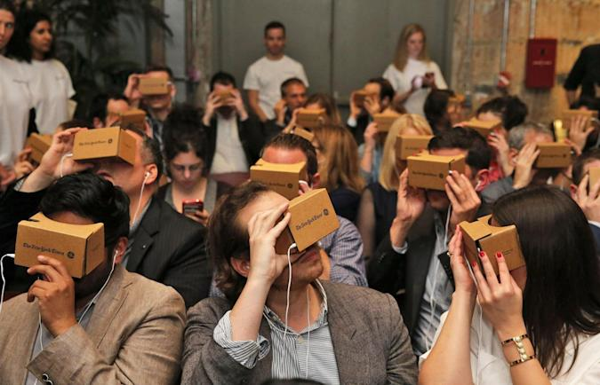 Google Cardboard attracted 5 million users since launch
