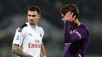 Una Fiorentina in 10 uomini tiene testa al Milan: 1-1, Pulgar risponde a Rebic