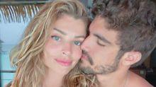 """Caio Castro comenta início de namoro com Grazi: """"A galera não sabia"""""""