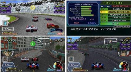 Sunrise moving GPX Cyber Formula games to PSP