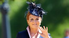 Duchess Sarah Ferguson makes surprise appearance at royal wedding
