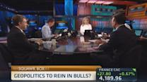 Geopolitics to rein in bulls? Watch oil prices: Pro