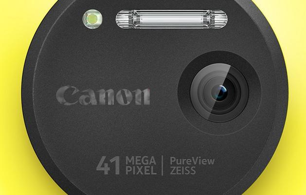 Could future Lumia handsets come with Canon lenses?