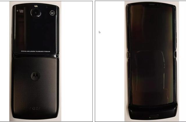 Motorola's foldable display RAZR leaks ahead of today's launch