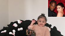 Travis Scott Just Bought Daughter Stormi, 11 months, a $25,000+ Chair Made of Stuffed Animals