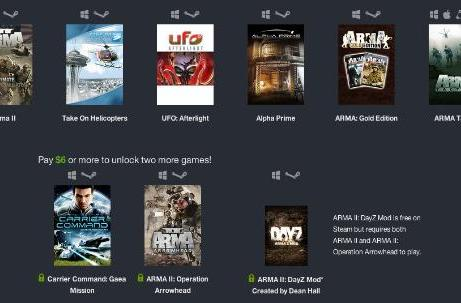 Humble Weekly Sale: Bohemia Interactive madness