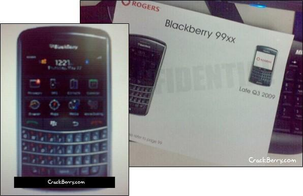 """BlackBerry 9900 """"Pluto"""" spotted in leaked Rogers documents?"""