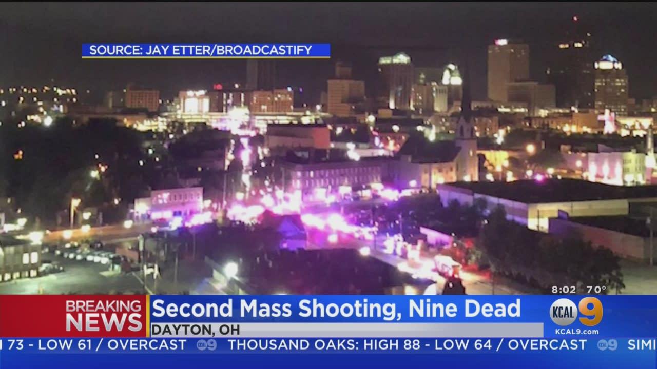 Nine People Killed in Mass Shooting In Dayton, Ohio