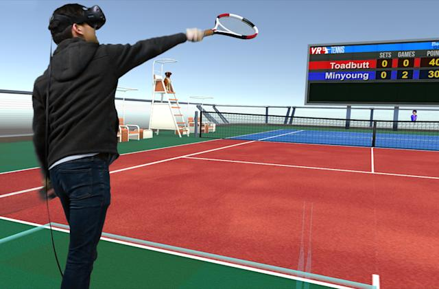 Vive Studios' 'VR Sports' is exactly what it sounds like