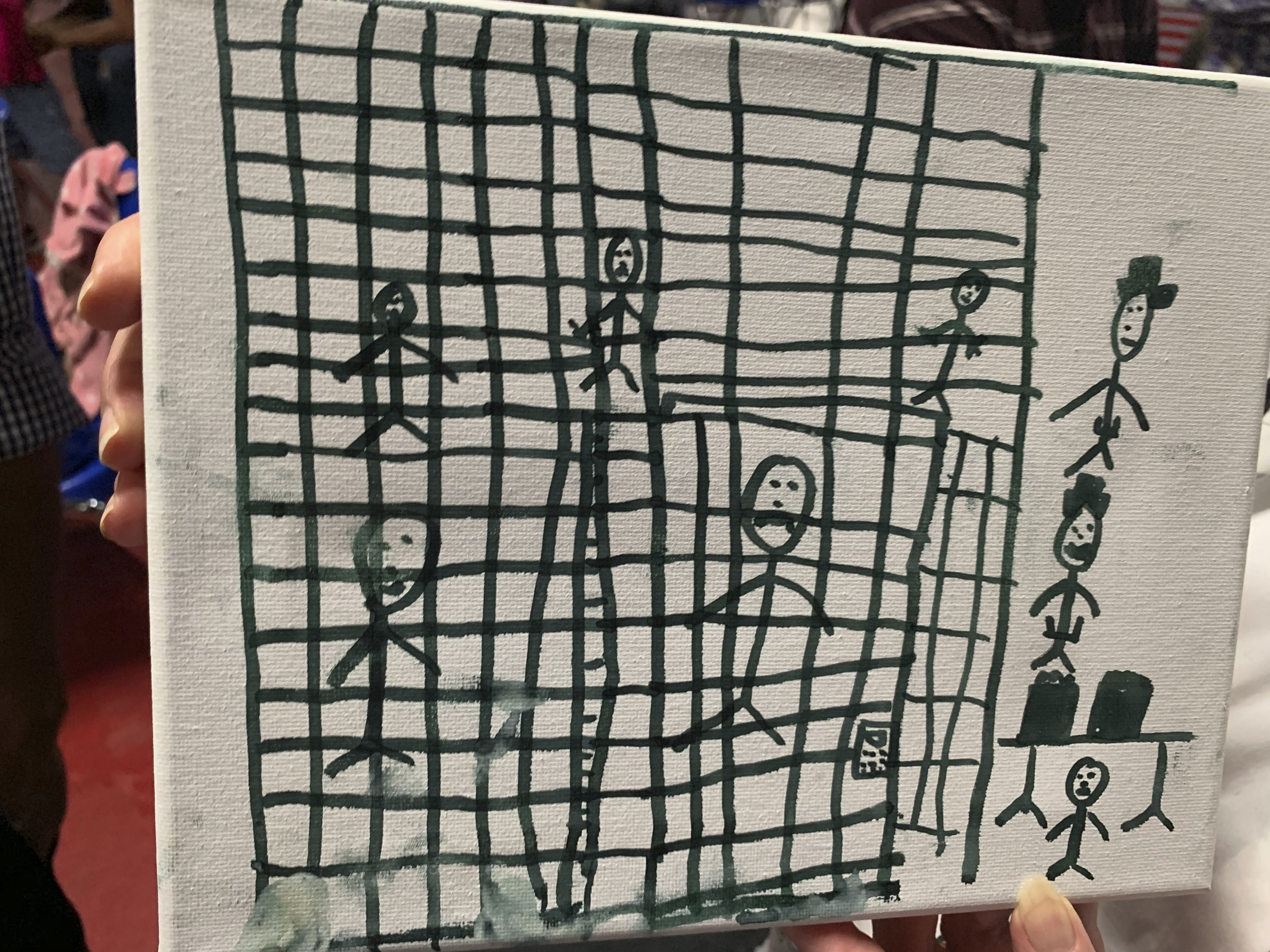 Correction: Migrant Children Drawings story