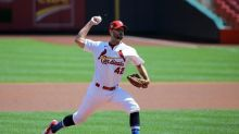Wainwright throws CG on 39th birthday, Cards top Indians 7-2