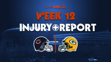 Bears injury report: Mitchell Trubisky full participant, Nick Foles DNP on Thursday