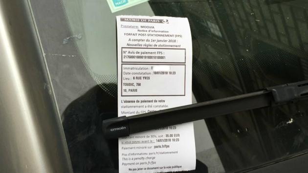 stationnement paris les loueurs de voitures oblig s de payer les amendes de leurs clients. Black Bedroom Furniture Sets. Home Design Ideas