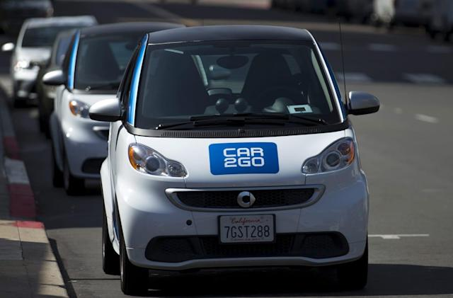 Alexa helps you reserve a ride with car2go's carsharing service