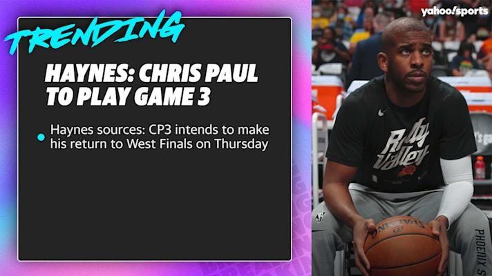 Haynes sources: Chris Paul intends to play in West Finals Game 3