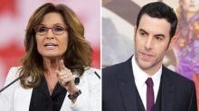 Sarah Palin Slams 'Evil, Sick' Sacha Baron Cohen After Being Duped Into Interview