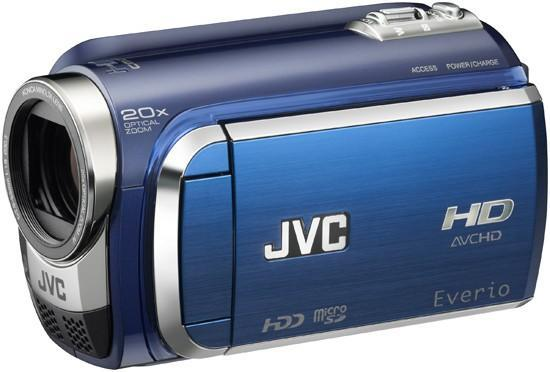 JVC lays out 2009 line of Everio camcorders at CES