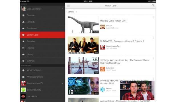 YouTube 2.0 for iOS brings multitasking and playlist searching